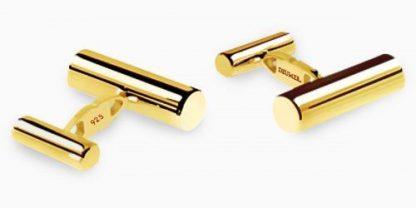 Deumer Manschettenknopf Stäbe Gold