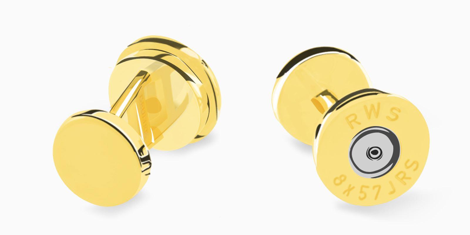 Deumer-Manschettenknopf-Patrone-Gold