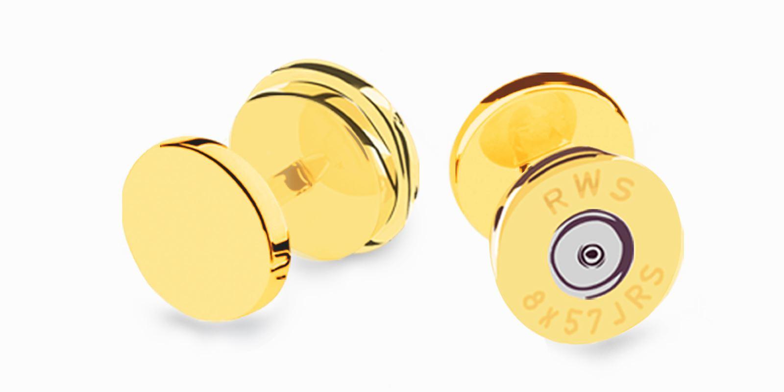 Deumer-Smokingknopf-Patrone-Gold